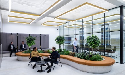 New flexible work space
