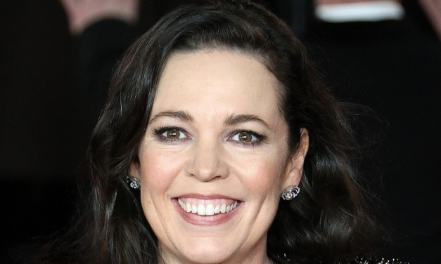 Golden girl Olivia Colman