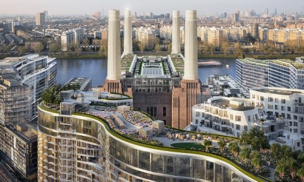 Battersea's changing skyline