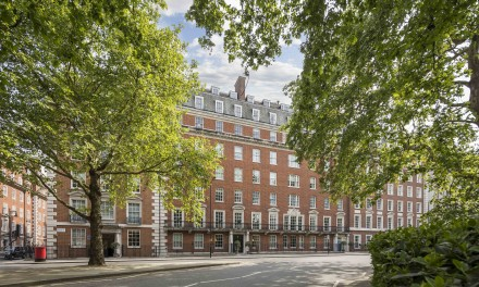Onassis Mayfair home for sale