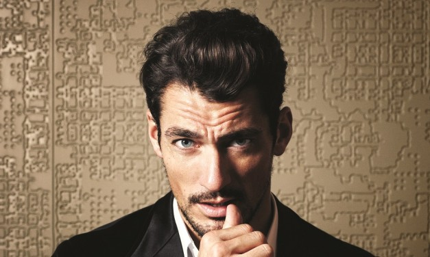 David Gandy test drives Volvo's new hybrid