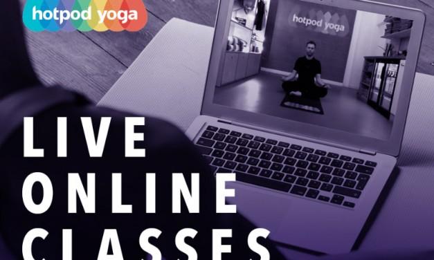 Hotpod Yoga Live Online