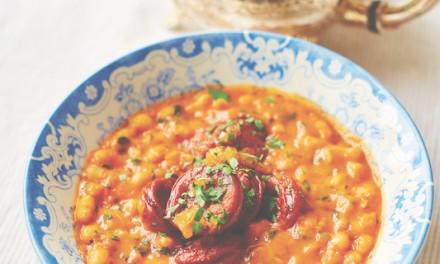 Recipe: Fortnum & Mason's baked beans with chorizo