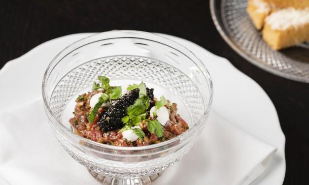 Recipe: Jason Atherton's beef tartare