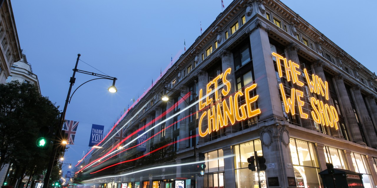 Selfridges launches new sustainability initiative